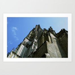 The Münster in Ulm, Germany Art Print