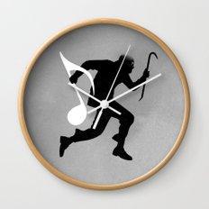 Ripped Wall Clock