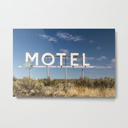Prairie Lodgings Metal Print