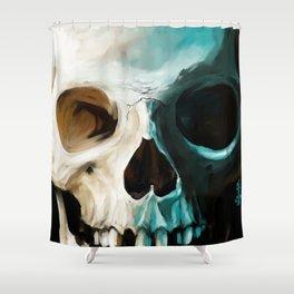 Skull 14 Shower Curtain