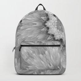 Daisy Sunflower Black & White Gray Backpack