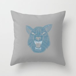 Big Bad Throw Pillow