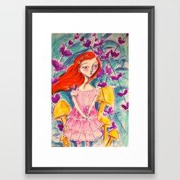 Finding Wonderland Framed Art Print