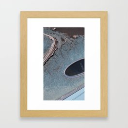 Junkyard Lincoln Framed Art Print