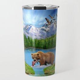 Window to the Great Bear Wilderness Travel Mug