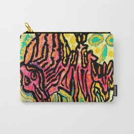 art fear painting Carry-All Pouch