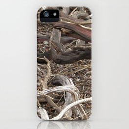 TEXTURES - Manzanita in Drought Conditions #3 iPhone Case