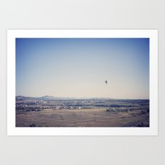 in the distance::denver Art Print