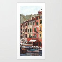 View of Portofino, Italy Art Print