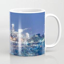 Minneapolis Neon Coffee Mug