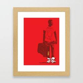 Radio Raheem 2 Framed Art Print