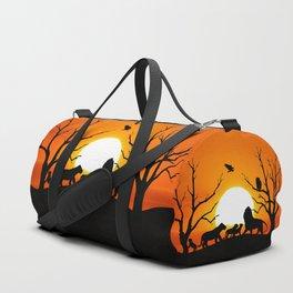 Lion family Duffle Bag