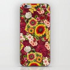 Summer Botanical Garden XV iPhone Skin