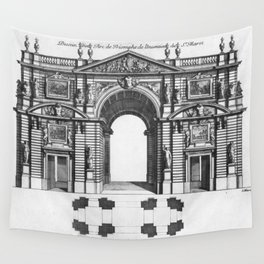 Arc de Triomphe Wall Tapestry