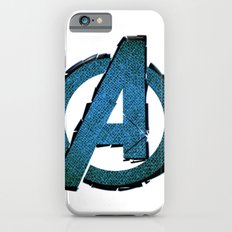 UNREAL PARTY 2012 AVENGERS LOGO FLYERS iPhone 6s Slim Case