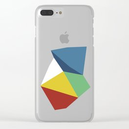 Abstraction Zoom Clear iPhone Case