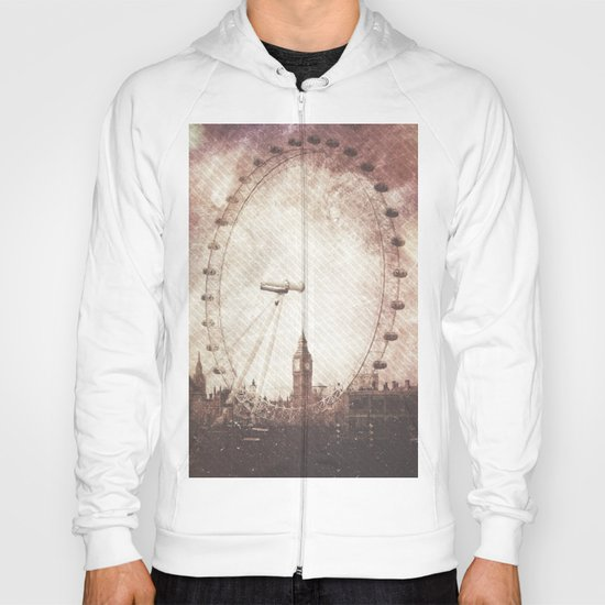 Big Ben in the Eye of London Hoody