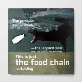 food chain 3 Metal Print