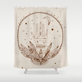 SIGH DREAMS Shower Curtain