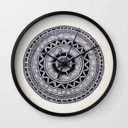 Mandala Creation #6 Wall Clock