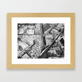 Six Corner Street View Framed Art Print