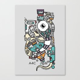 Animation for a Cause poster Canvas Print