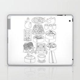 Sunday Dim Sum - Line Art Laptop & iPad Skin