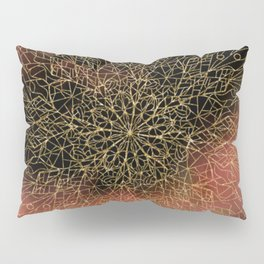 Dusk Mandala Pillow Sham