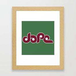 Dope Philly Framed Art Print