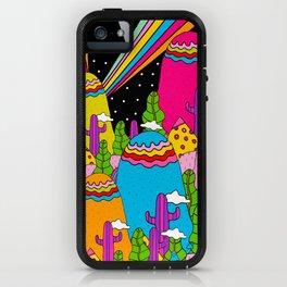 Night Sky Rainbows iPhone Case