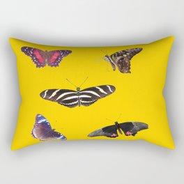 Butterflies 2 Rectangular Pillow