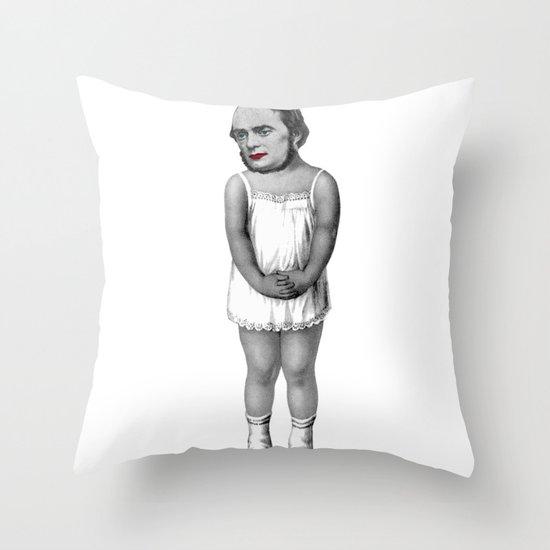 Untitled man Throw Pillow