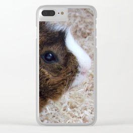 Mister Guinea 2 Clear iPhone Case