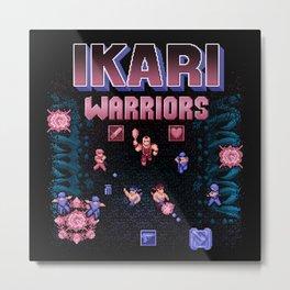 Warriors Ikari Metal Print