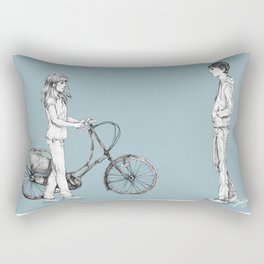 Hapipaks Gig Poster Rectangular Pillow