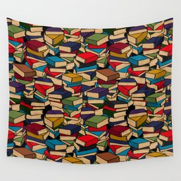 The Book Collector Wall Tapestry