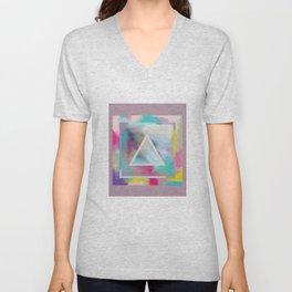 Rose Triangle Manifestation Unisex V-Neck