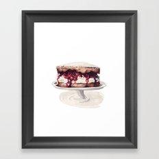 Cake Time! Framed Art Print