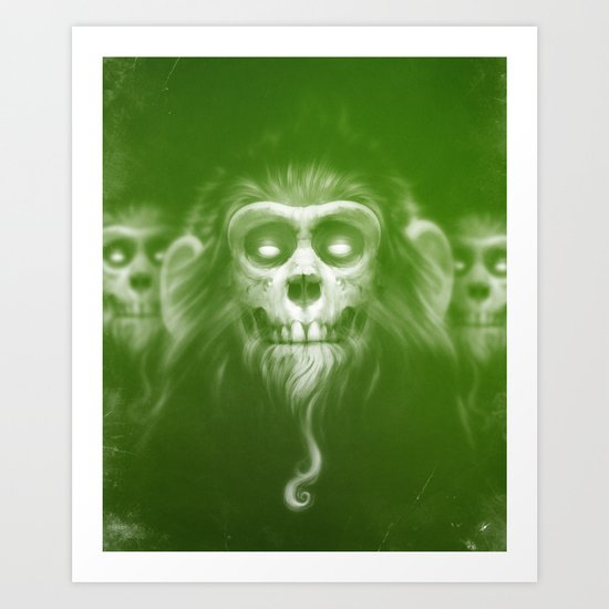 Those Who Are Dead Art Print