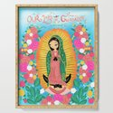 Our Lady of Guadalupe by ofeliadesigns