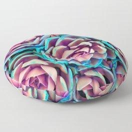 Vibrant Succulents Floor Pillow