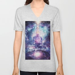 On The Edge of Harmony Unisex V-Neck