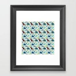Dinosaur Days (Smaller Print) Framed Art Print