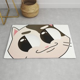 Smug Cat (W/O Text) Rug