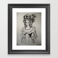 French Sketch II Framed Art Print