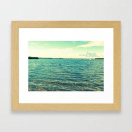 Summer in the City No. 5 Framed Art Print