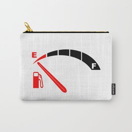 Running On Empty Carry-All Pouch