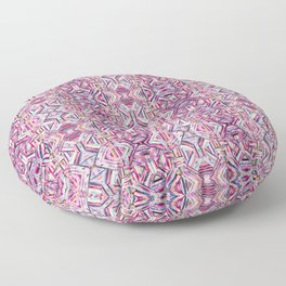LINEA 040 Abstract Collage Floor Pillow