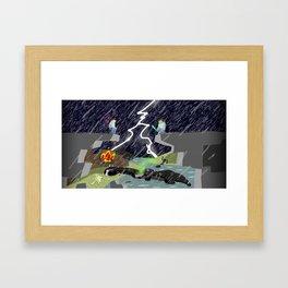 The Final Confrontation Framed Art Print