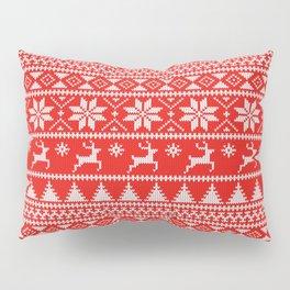Fair Isle Christmas Pillow Sham